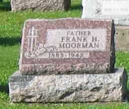 MOORMAN, FRANK H. - Mercer County, Ohio   FRANK H. MOORMAN - Ohio Gravestone Photos