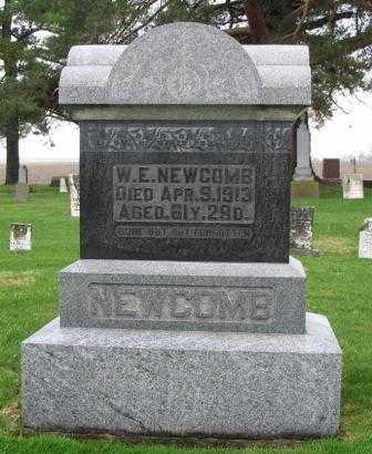 NEWCOMB, W.E. - Mercer County, Ohio   W.E. NEWCOMB - Ohio Gravestone Photos