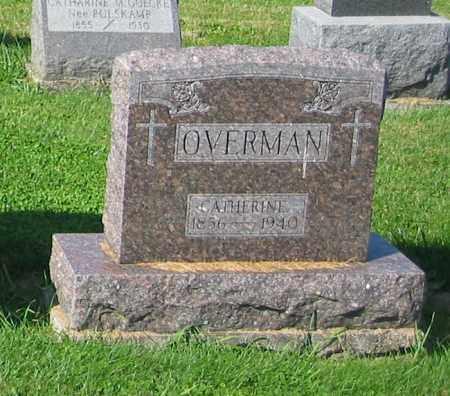 OVERMAN, CATHERINE - Mercer County, Ohio | CATHERINE OVERMAN - Ohio Gravestone Photos