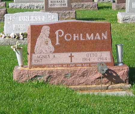 POHLMAN, AGNES A - Mercer County, Ohio   AGNES A POHLMAN - Ohio Gravestone Photos