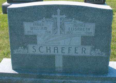 SCHAEFER, ELISABETH - Mercer County, Ohio | ELISABETH SCHAEFER - Ohio Gravestone Photos