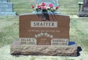 ALSPAUGH SHAFFER, ZELAH VAN LAURA - Mercer County, Ohio | ZELAH VAN LAURA ALSPAUGH SHAFFER - Ohio Gravestone Photos