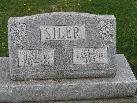 SILER, HAZEL M. - Mercer County, Ohio   HAZEL M. SILER - Ohio Gravestone Photos