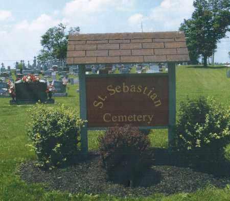 ST.SEBASTIAN, CEMETERY ENTRANCE - Mercer County, Ohio | CEMETERY ENTRANCE ST.SEBASTIAN - Ohio Gravestone Photos