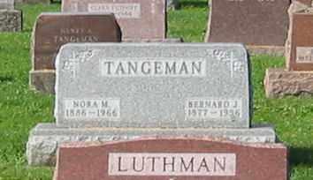 TANGEMAN, BERNARD J - Mercer County, Ohio   BERNARD J TANGEMAN - Ohio Gravestone Photos