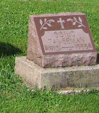 TANGEMAN, ODILO - Mercer County, Ohio   ODILO TANGEMAN - Ohio Gravestone Photos