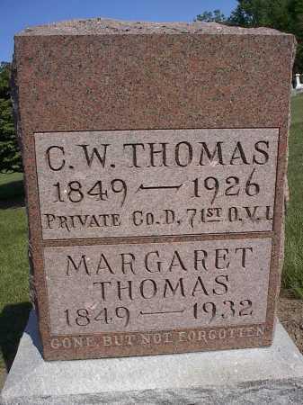 SNAVELY THOMAS, MARGARET - Mercer County, Ohio | MARGARET SNAVELY THOMAS - Ohio Gravestone Photos