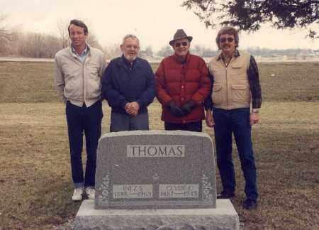 THOMAS, CLYDE E. - Mercer County, Ohio | CLYDE E. THOMAS - Ohio Gravestone Photos