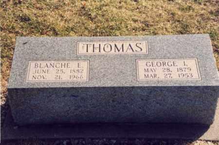 THOMAS, GEORGE I. - Mercer County, Ohio   GEORGE I. THOMAS - Ohio Gravestone Photos