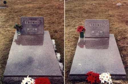KRUGER THOMAS, EDNA E. - Mercer County, Ohio | EDNA E. KRUGER THOMAS - Ohio Gravestone Photos
