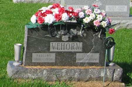 VEHORN, PAULINE - Mercer County, Ohio | PAULINE VEHORN - Ohio Gravestone Photos