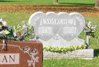 VOSKUHL, SHARON K. - Mercer County, Ohio   SHARON K. VOSKUHL - Ohio Gravestone Photos