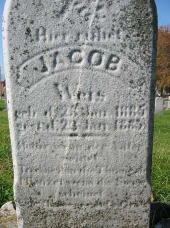 WEIS, JACOB - Mercer County, Ohio | JACOB WEIS - Ohio Gravestone Photos