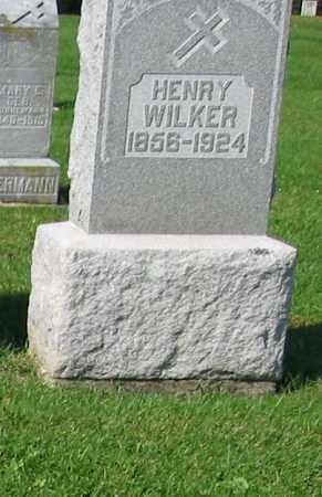 WILKER, HENRY - Mercer County, Ohio | HENRY WILKER - Ohio Gravestone Photos