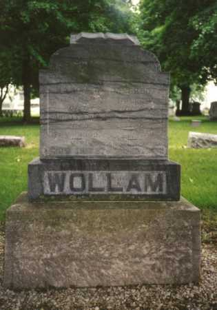 THOMAS WOLLAM, NANCY - Mercer County, Ohio | NANCY THOMAS WOLLAM - Ohio Gravestone Photos