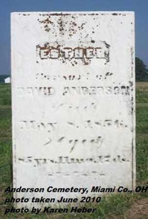 HOLLINGSHEAD ANDERSON, ESTHER - Miami County, Ohio | ESTHER HOLLINGSHEAD ANDERSON - Ohio Gravestone Photos