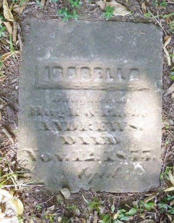 ANDREWS, ISABELLA - Miami County, Ohio | ISABELLA ANDREWS - Ohio Gravestone Photos