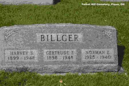 BILLGER, NORMAN ELWARD - Miami County, Ohio | NORMAN ELWARD BILLGER - Ohio Gravestone Photos