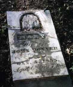 BONNER, MARY - Miami County, Ohio | MARY BONNER - Ohio Gravestone Photos