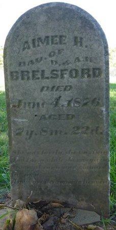 BRELSFORD, AIMEE H - Miami County, Ohio   AIMEE H BRELSFORD - Ohio Gravestone Photos