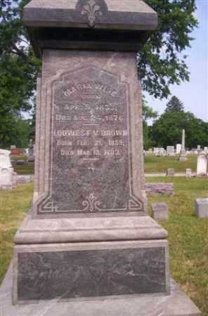 BROWN, LOUWEST - Miami County, Ohio | LOUWEST BROWN - Ohio Gravestone Photos