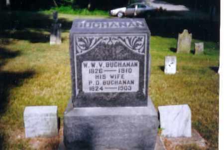 BUCHANAN, P.D. - Miami County, Ohio | P.D. BUCHANAN - Ohio Gravestone Photos