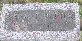 BURTON, SARAH C. - Miami County, Ohio | SARAH C. BURTON - Ohio Gravestone Photos