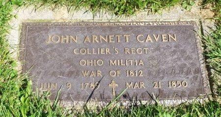 CAVEN, JOHN ARNETT - Miami County, Ohio | JOHN ARNETT CAVEN - Ohio Gravestone Photos
