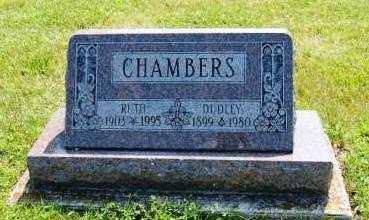 KINGHAM CHAMBERS, RUTH - Miami County, Ohio | RUTH KINGHAM CHAMBERS - Ohio Gravestone Photos