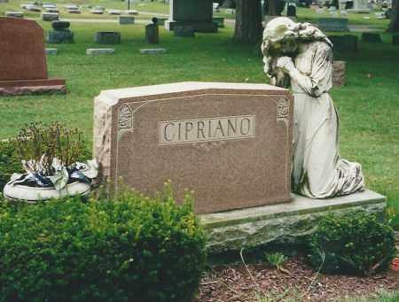 CIPRIANO, HEADSTONE - Miami County, Ohio | HEADSTONE CIPRIANO - Ohio Gravestone Photos