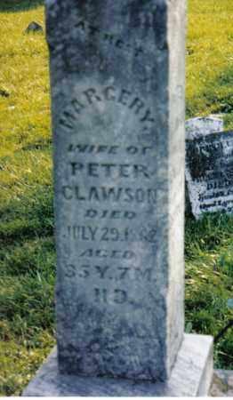 CLAWSON, MARGARY - Miami County, Ohio   MARGARY CLAWSON - Ohio Gravestone Photos