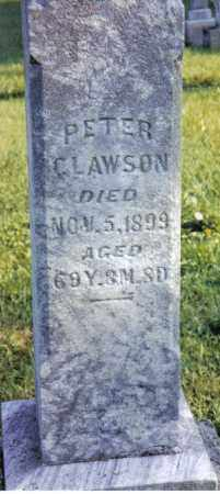 CLAWSON, PETER - Miami County, Ohio | PETER CLAWSON - Ohio Gravestone Photos