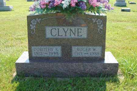CLYNE, ROGER - Miami County, Ohio | ROGER CLYNE - Ohio Gravestone Photos