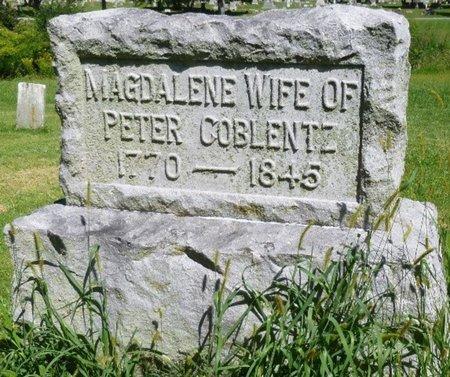 COBLENTZ, MAGDALENE - Miami County, Ohio | MAGDALENE COBLENTZ - Ohio Gravestone Photos