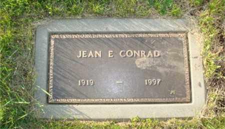 CONRAD, JEAN E - Miami County, Ohio | JEAN E CONRAD - Ohio Gravestone Photos