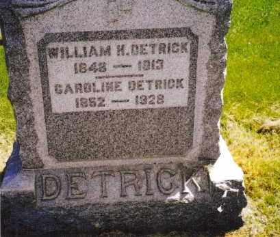 SWINDLER DETRICK, EDITH CAROLINE - Miami County, Ohio | EDITH CAROLINE SWINDLER DETRICK - Ohio Gravestone Photos
