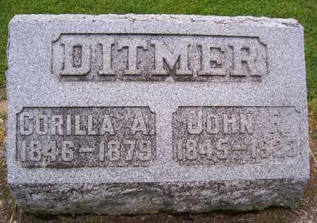 DITMER, CORILLA A - Miami County, Ohio | CORILLA A DITMER - Ohio Gravestone Photos