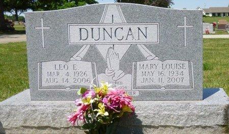 DUNCAN, LEO EARL - Miami County, Ohio | LEO EARL DUNCAN - Ohio Gravestone Photos