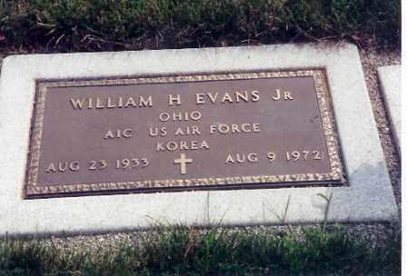 EVANS, JR., WILLIAM H. - Miami County, Ohio   WILLIAM H. EVANS, JR. - Ohio Gravestone Photos