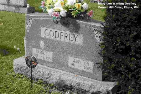 WARLING GODFREY, MARY LOU - Miami County, Ohio   MARY LOU WARLING GODFREY - Ohio Gravestone Photos
