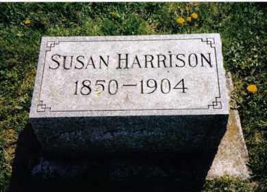 HARRISON, SUSAN - Miami County, Ohio   SUSAN HARRISON - Ohio Gravestone Photos