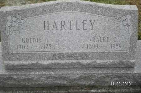 SORTER HARTLEY, GOLDIE I - Miami County, Ohio | GOLDIE I SORTER HARTLEY - Ohio Gravestone Photos
