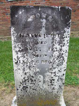 HAWORTH, JOHN - Miami County, Ohio | JOHN HAWORTH - Ohio Gravestone Photos