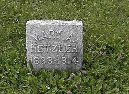 HETZLER, MARY ANN - Miami County, Ohio | MARY ANN HETZLER - Ohio Gravestone Photos
