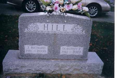 HILL, J RICHARD - Miami County, Ohio | J RICHARD HILL - Ohio Gravestone Photos
