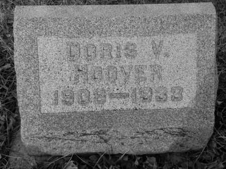 HOOVER, DOROTHY (DORIS) VIVIAN - Miami County, Ohio | DOROTHY (DORIS) VIVIAN HOOVER - Ohio Gravestone Photos