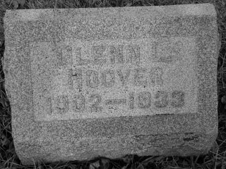 HOOVER, GLENN LEVERN - Miami County, Ohio   GLENN LEVERN HOOVER - Ohio Gravestone Photos