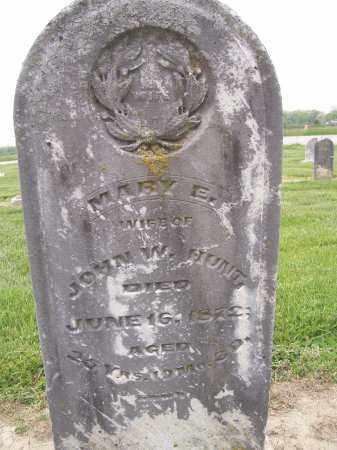 HUNT, MARY - Miami County, Ohio | MARY HUNT - Ohio Gravestone Photos