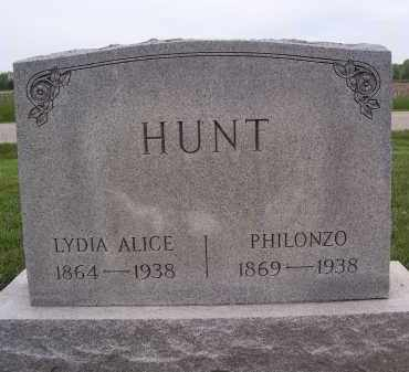 HUNT, PHILONZO - Miami County, Ohio | PHILONZO HUNT - Ohio Gravestone Photos