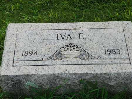 IDLE, IVA E. - Miami County, Ohio | IVA E. IDLE - Ohio Gravestone Photos